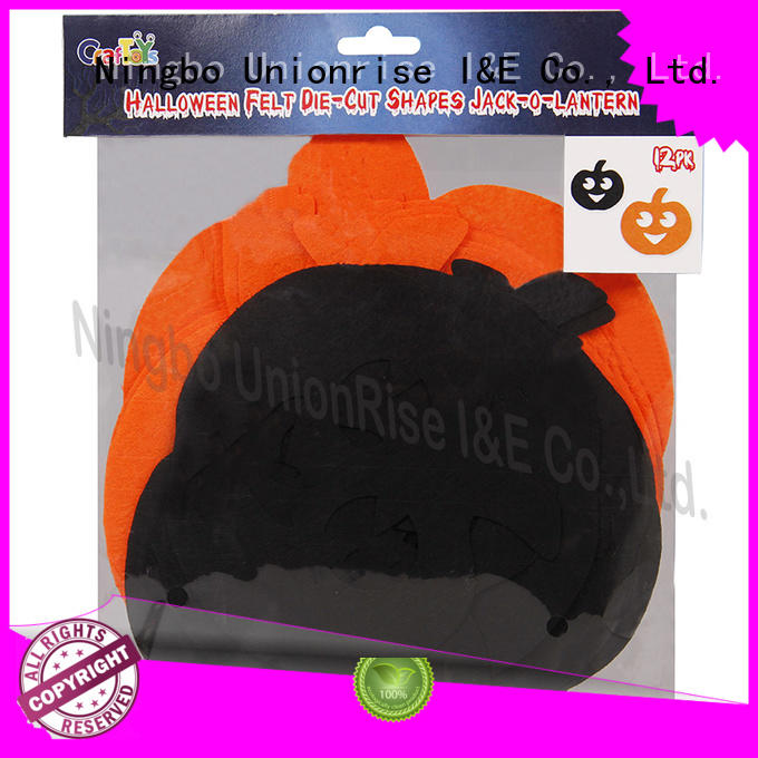Unionrise custom halloween felt craft kits light-weight bulk production