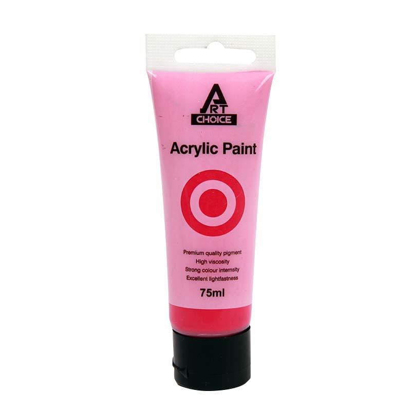 Acrylic Paint 75ml Pink