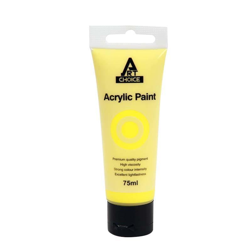 Acrylic Paint 75ml Light yellow