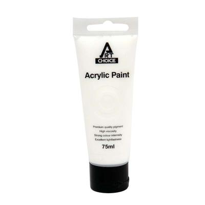 Acrylic Paint 75ml White