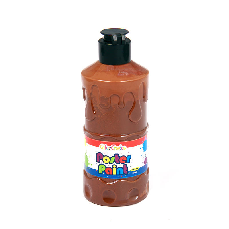 Poster Paint 250ml Brown