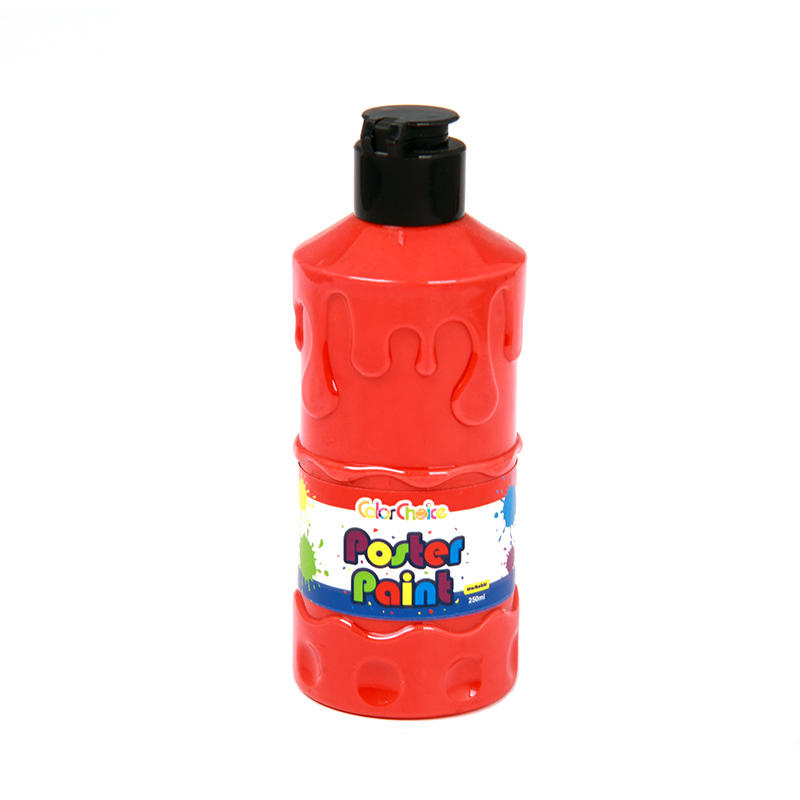Poster Paint 250ml Red