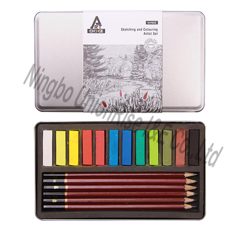 Sketching and Colouring Artist Set 18 Pieces