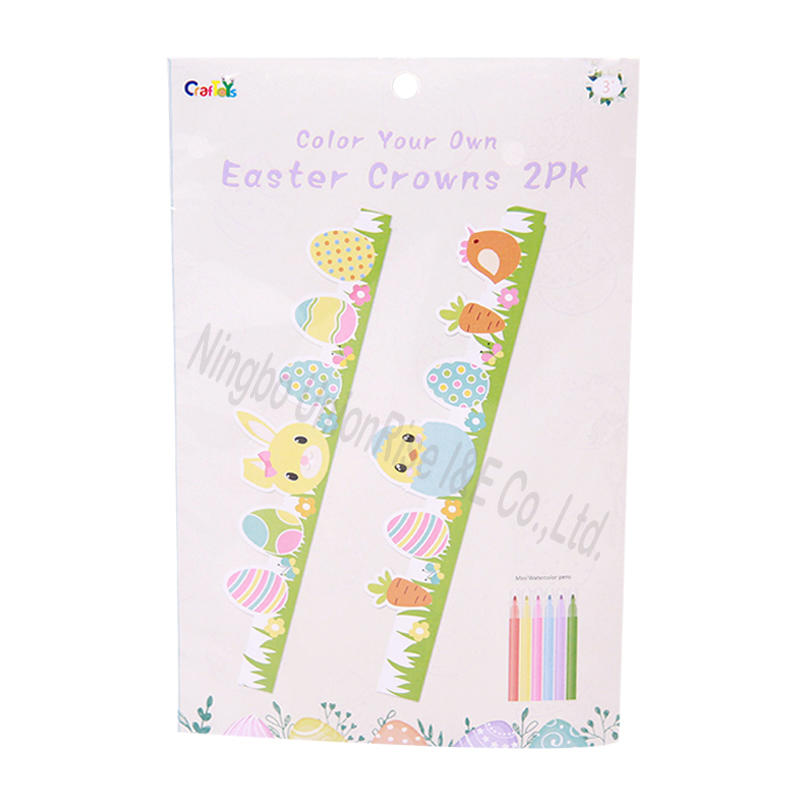 Color Your Own Easter Crowns 2PK