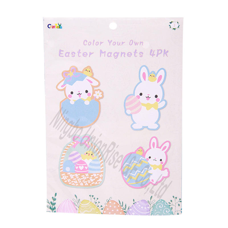 Color your own Easter Magnets 4PK