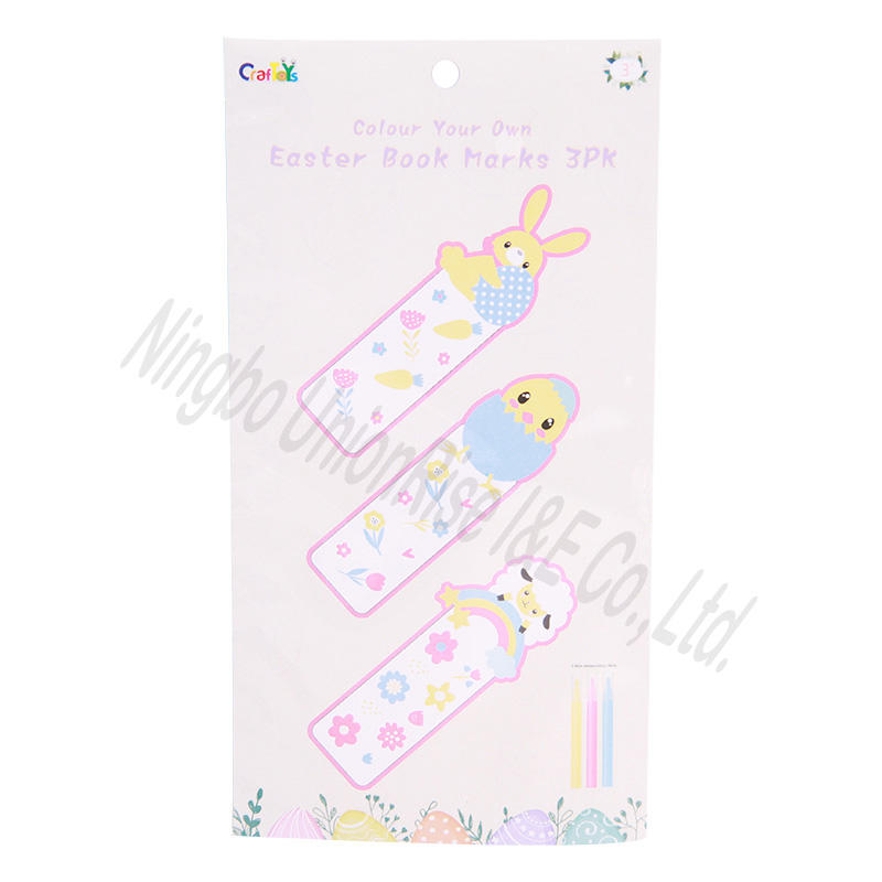 Colour Your Own Easter Book Marks 3PK