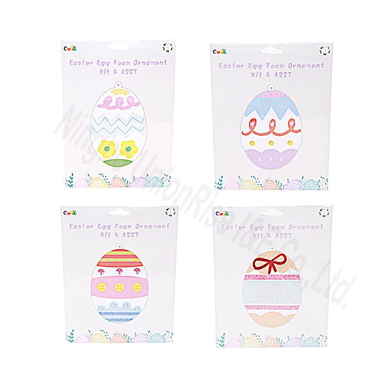 Easter Egg Foam Ornament Kit 4 Assortment