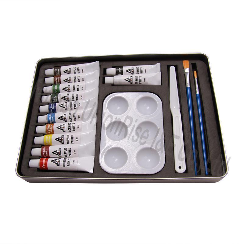 Acrylic Paint Artist Set 17 Pieces