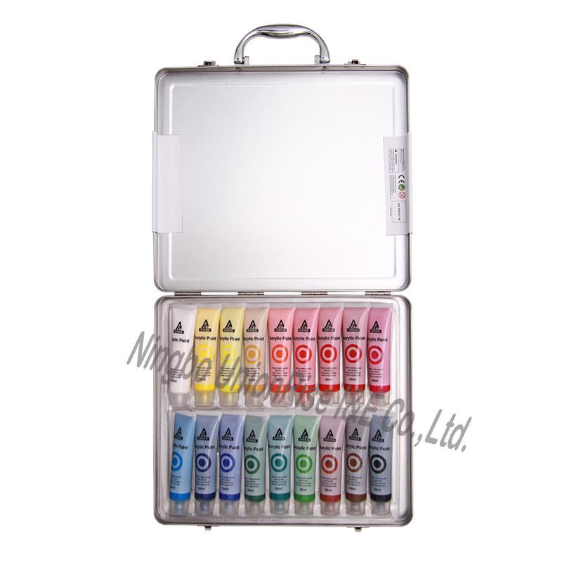 36ml Acrylic Colour Set 18 Pieces