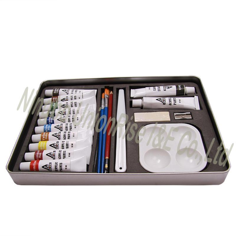Acrylic Paint Kit 19 Pieces
