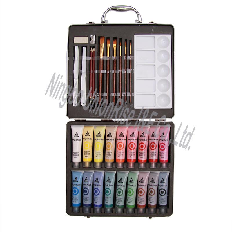 Artist Acrylic Paint Set 31 Pieces
