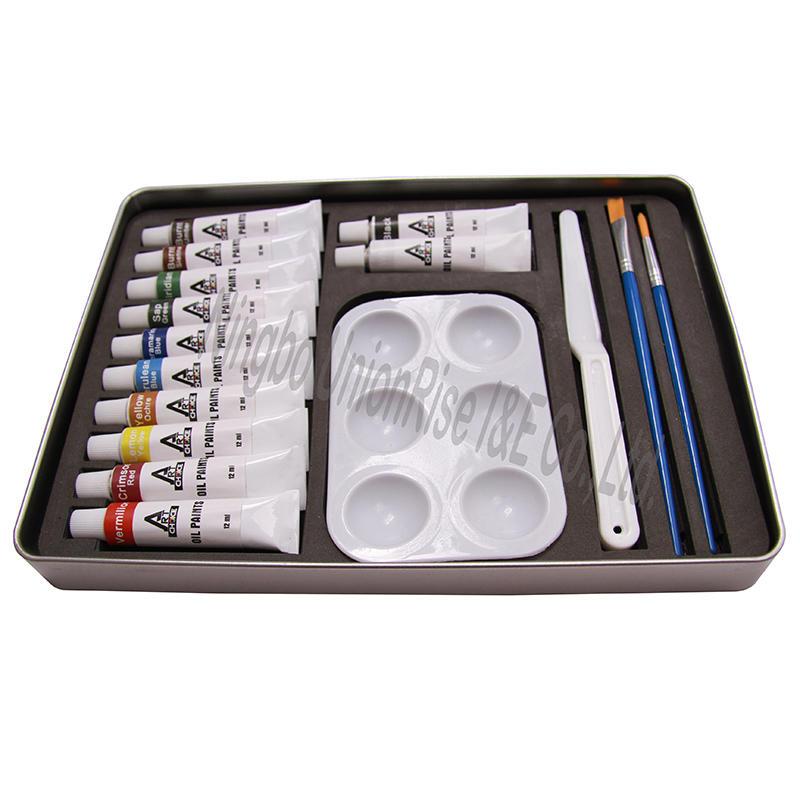 Oil Paint Artist Set 17 Pieces