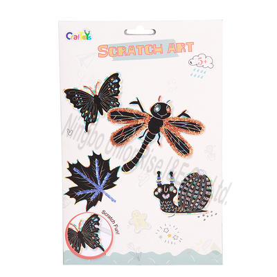 Scratch Art Insects