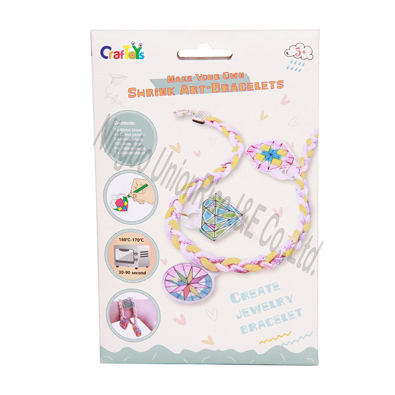 Shrink Art bracelets