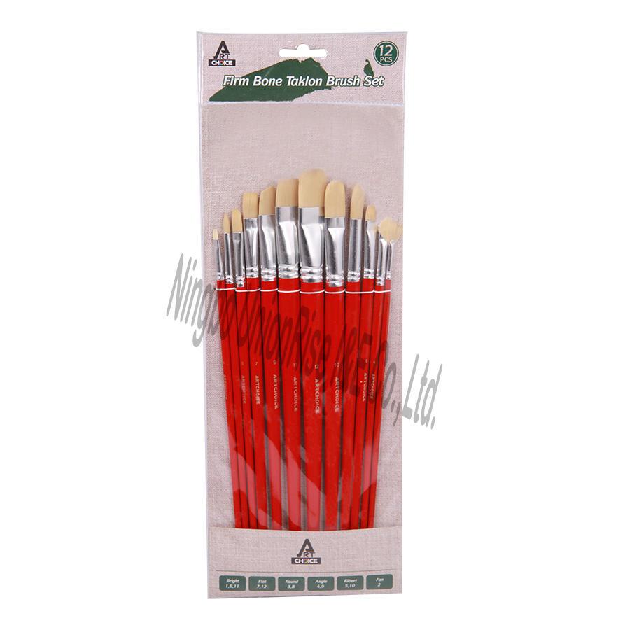 Firm Bone Taklon Brush Set