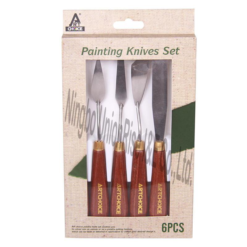 Painting Knives Set 6pcs