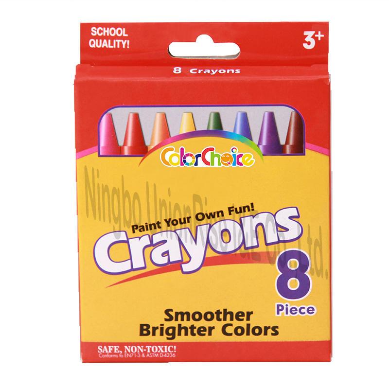 Normal Crayons 8 Pieces