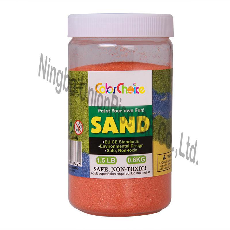 Colorful Sand 0.6KG Orange