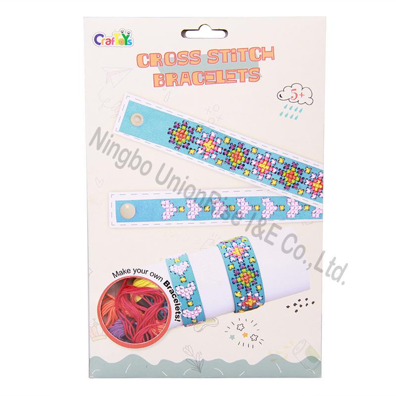 Cross Stitch Bracelets  3 Assortment