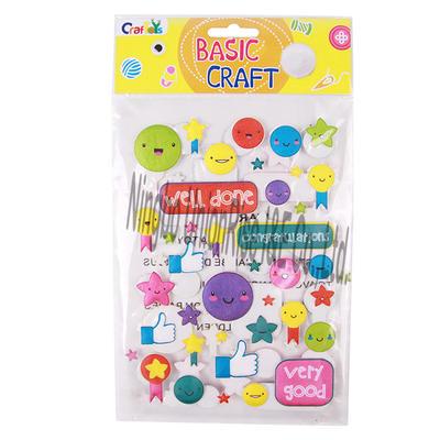 Basic Craft Sticker Congratulations