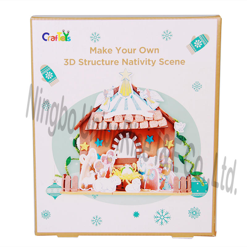 Make Your Own 3D Structure Nativity Scene