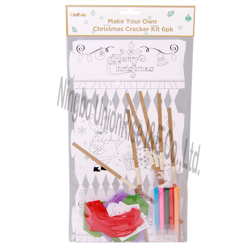 Make Your Own Christmas Cracker Kit 6 PK
