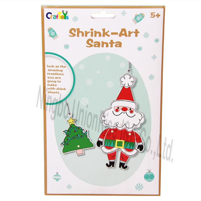 Shrink Art Santa