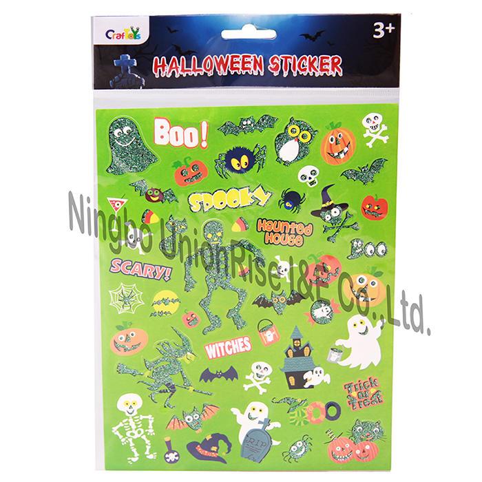 Kids Halloween Sticker