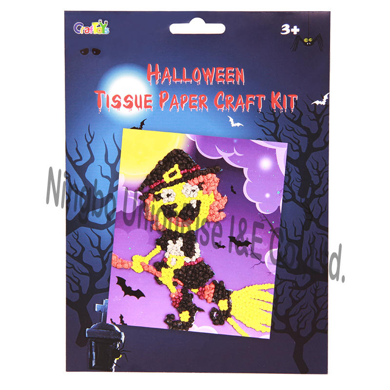 Halloween Tissue Paper Craft Kit