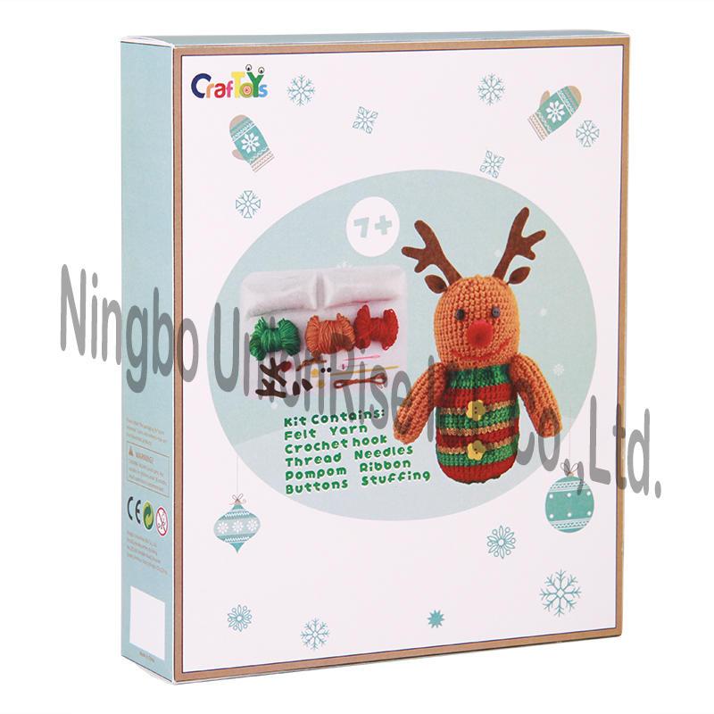 Easy Knit-Reindeer
