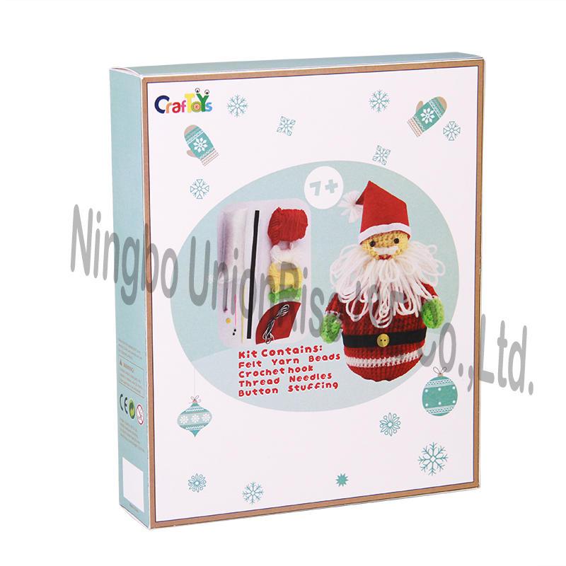 Easy Knit-Santa-claus