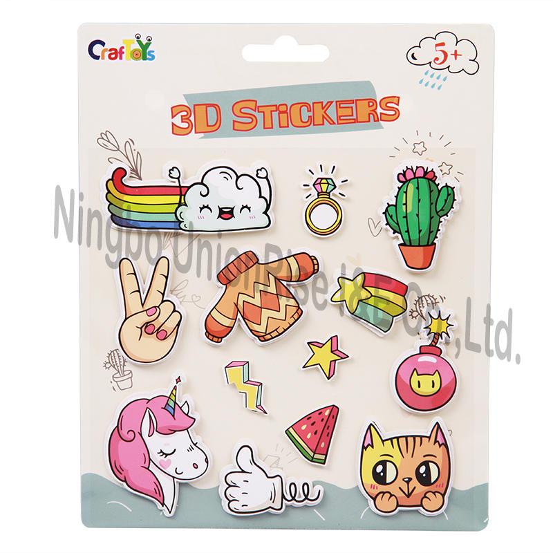3D Stickers For Kids