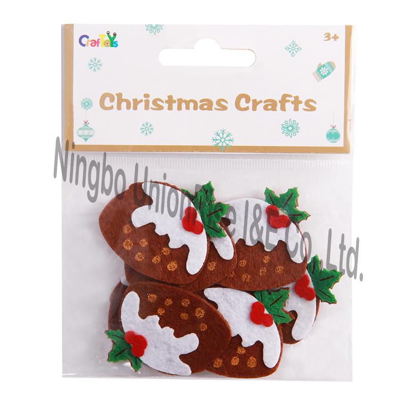 Christmas Felt Craft Puddings