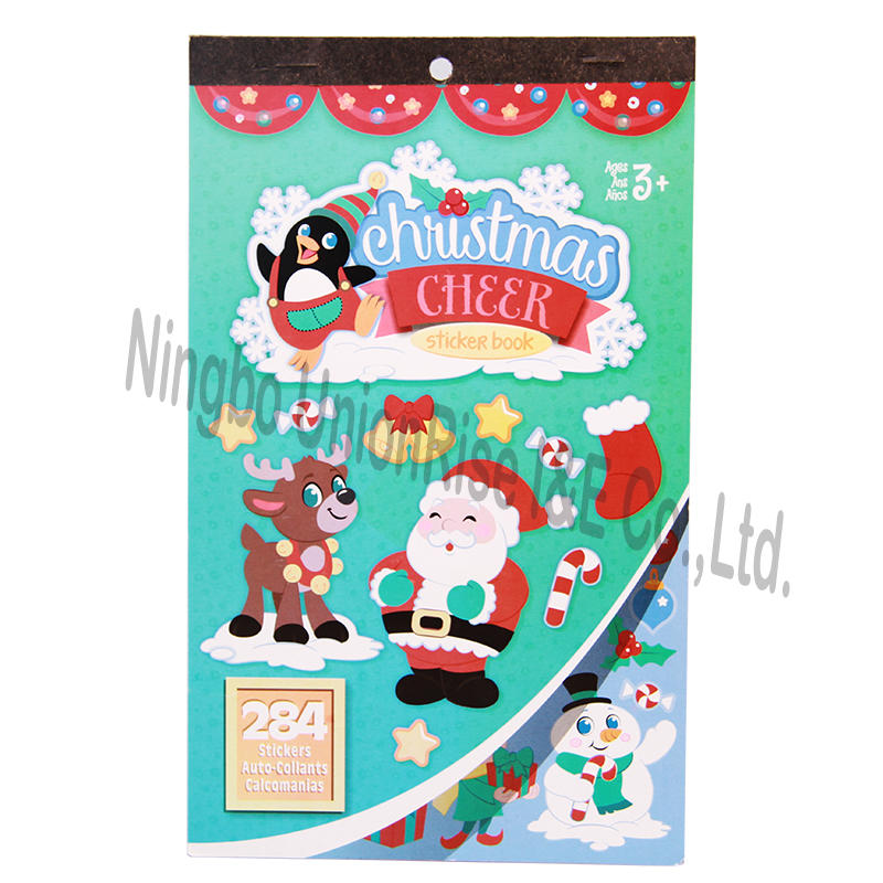 Christmas Cheer Sticker Book