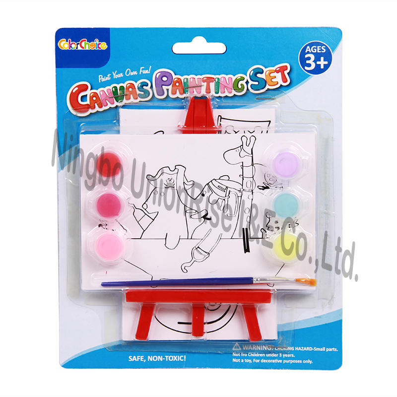 Paint Your Own Fun Canvas Painting Set