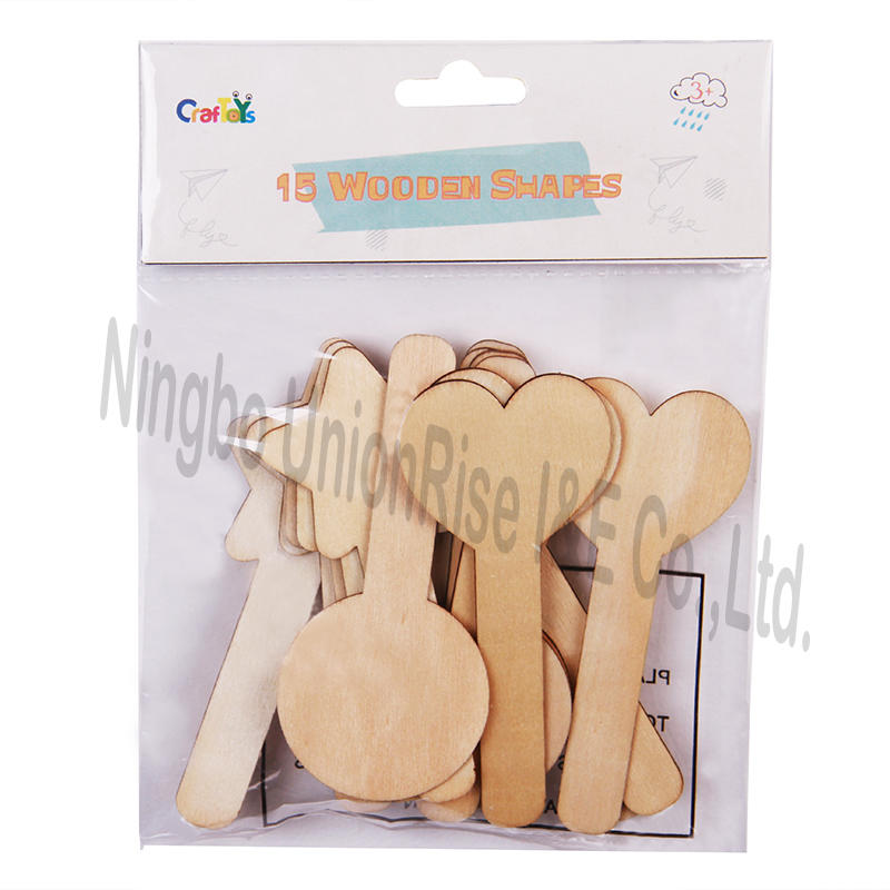 15 Wooden Shapes