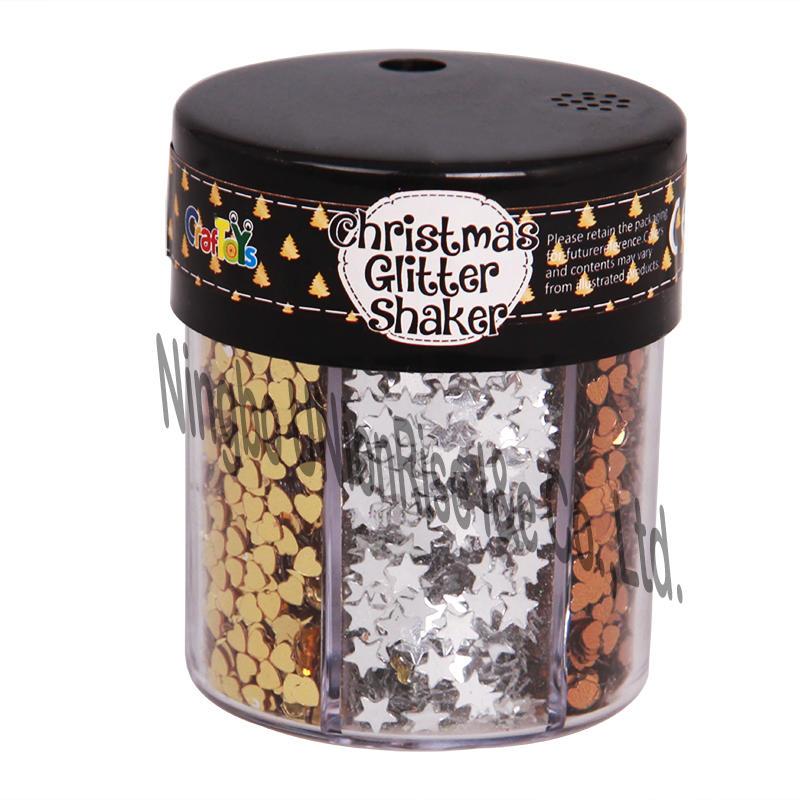 Christmas Glitter Shaker