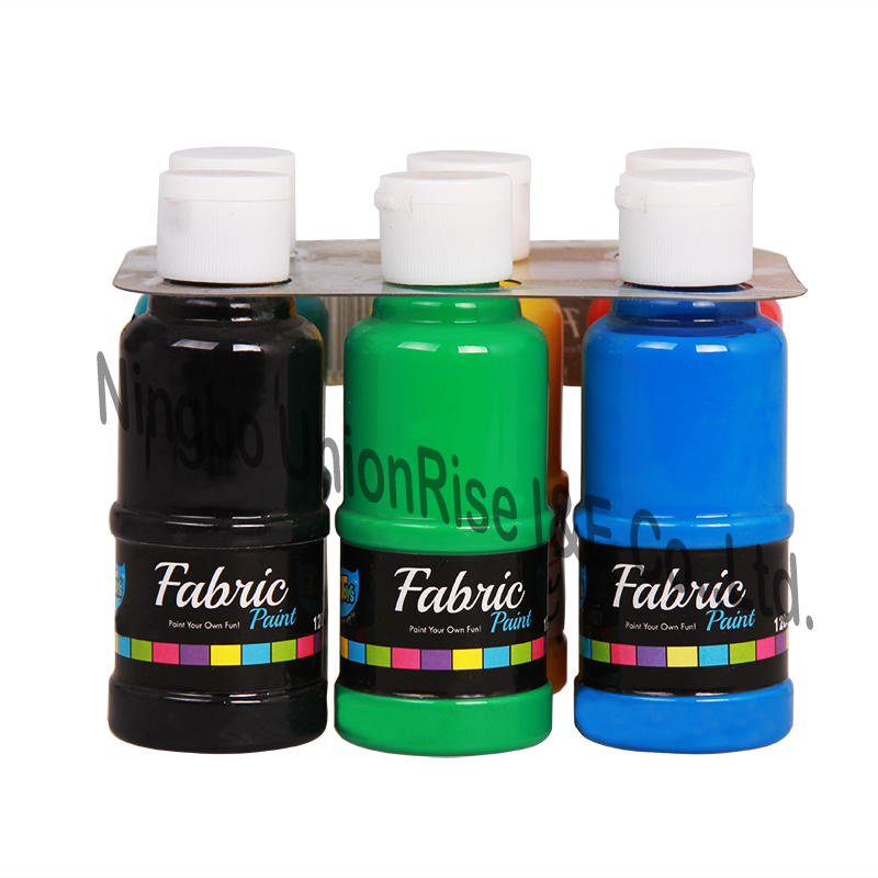 Paint Your Own Fun Fabric Paint 120ml x 6