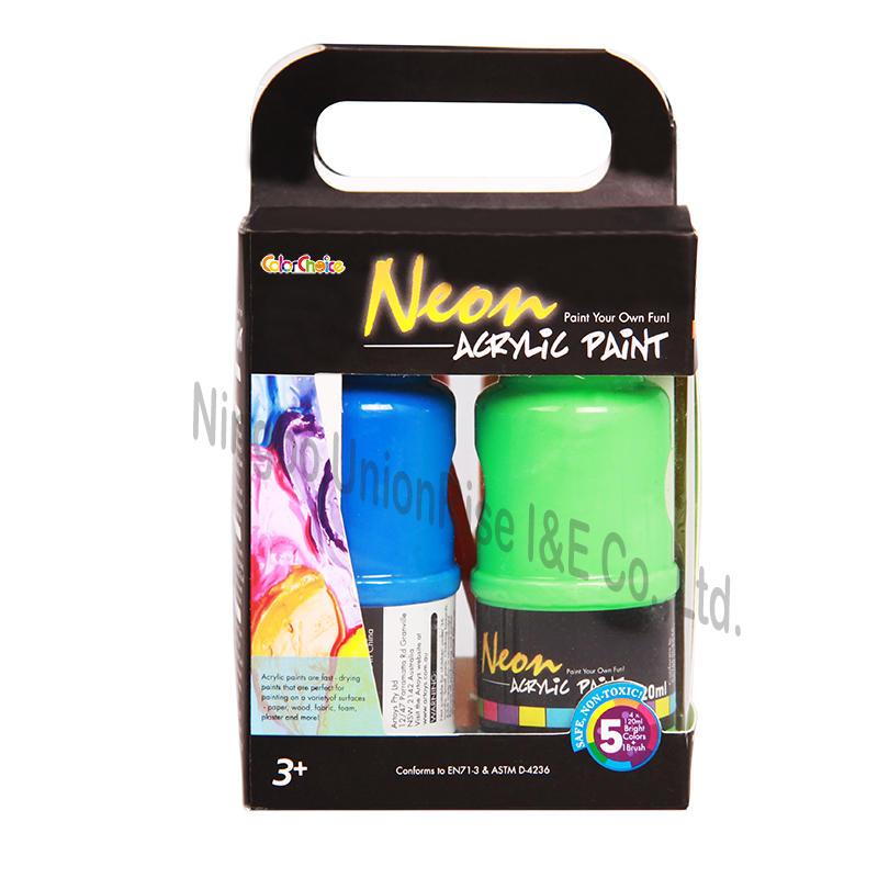 Neon Paint 120ml x 4