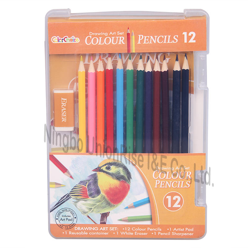 Colour Pencils 12 Pieces