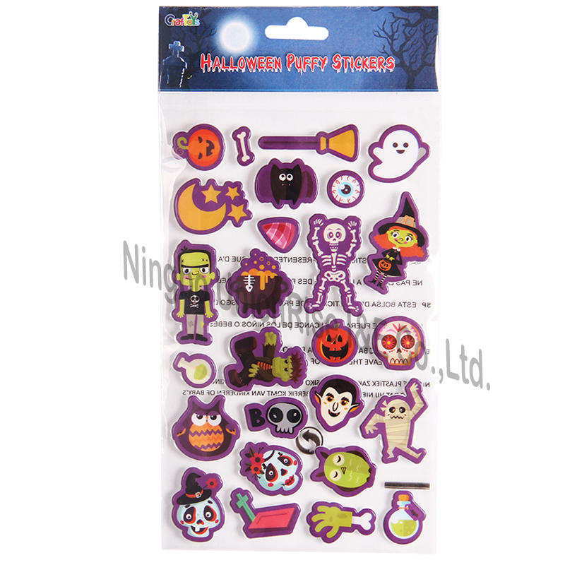 Halloween Puffy Stickers