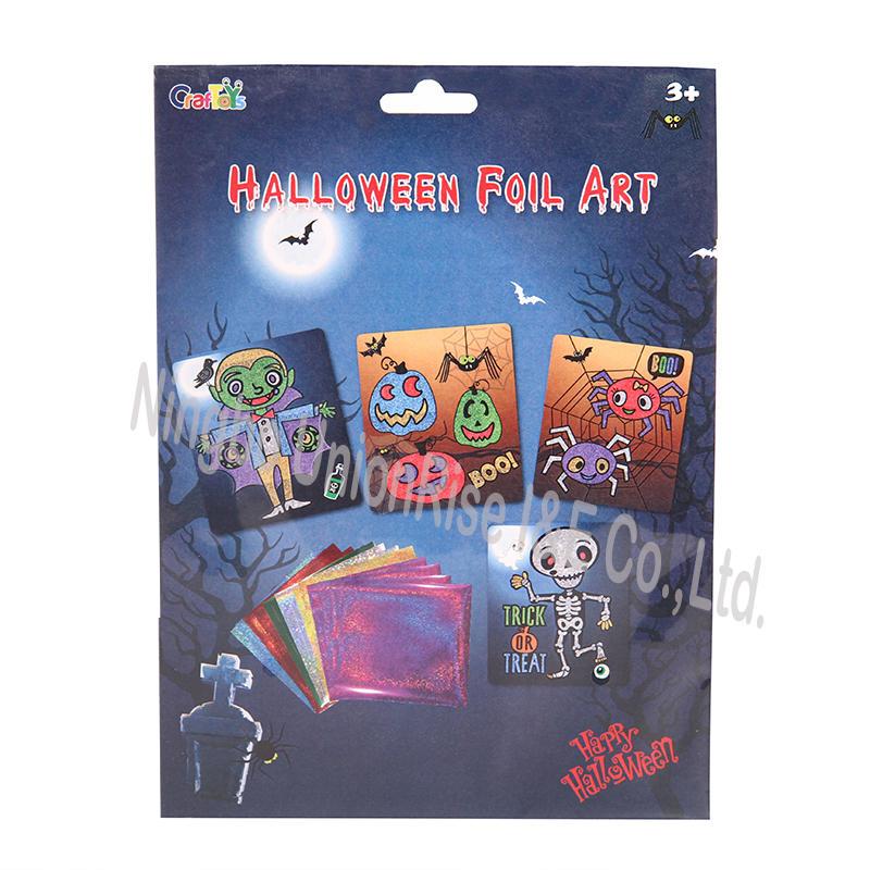 Halloween Foil Art