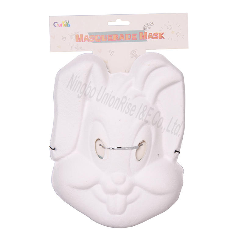 Childrens Paper Mask Full Face - Rabbit
