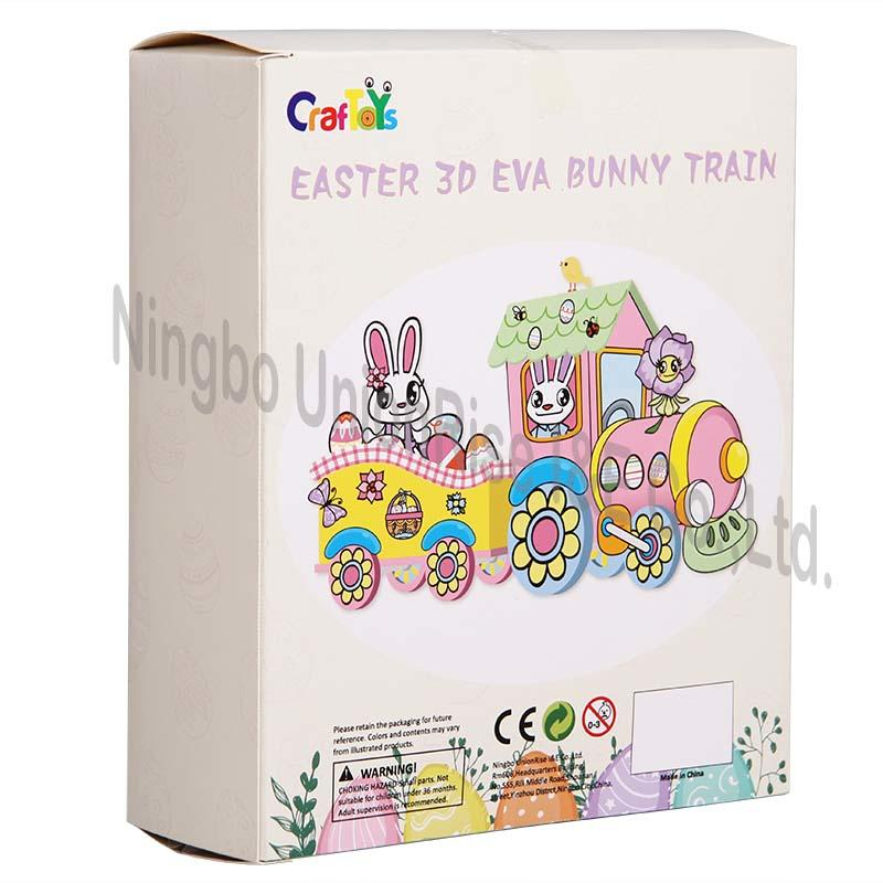 Easter 3D EVA Bunny Train