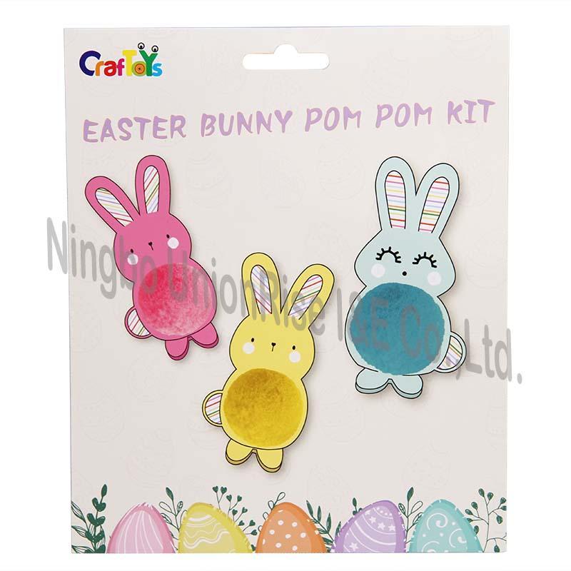Easter Bunny Pom Pom Kit