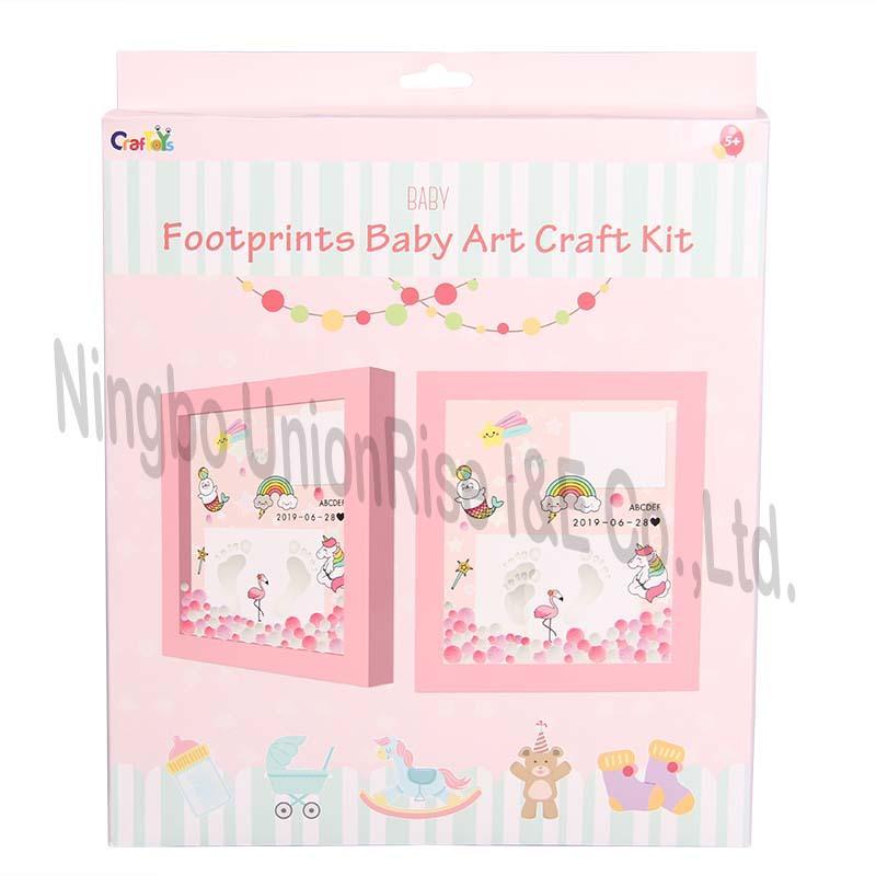 Baby Footprints Art Craft Kit Style 2