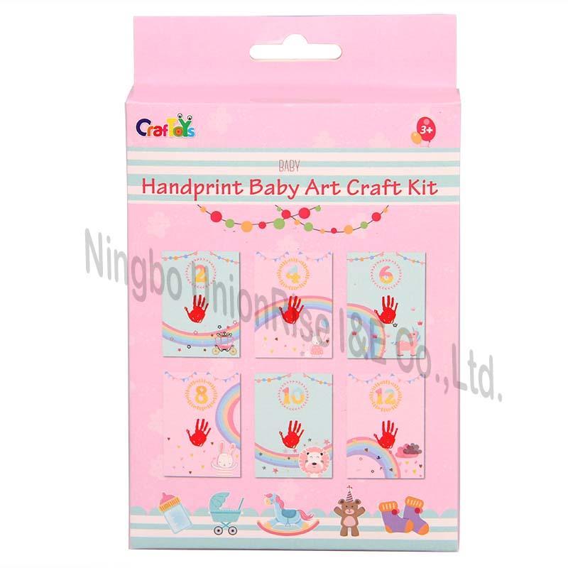 Handprint Baby Art Craft Kit