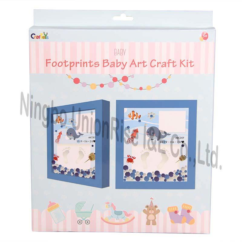 Footprints Baby Art Craft Kit