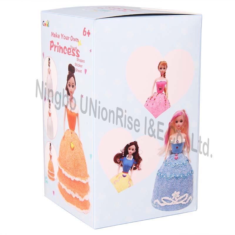 Make Your Own Dough Princess Orange Dress
