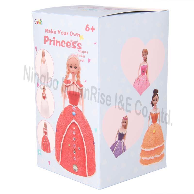 Make Your Own Dough Princess Red Dress
